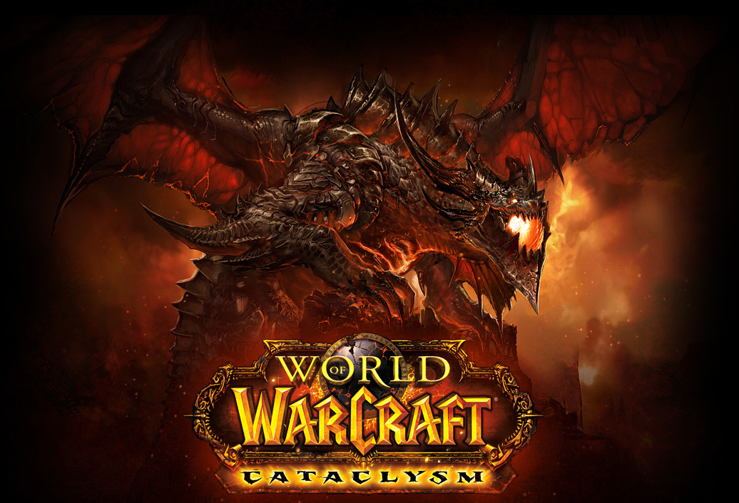 first one is the release of World of Warcraft: Cataclysm,