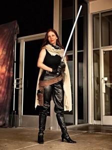 Elf as Mara Jade from Star Wars
