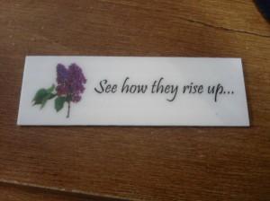 Lilac Badge