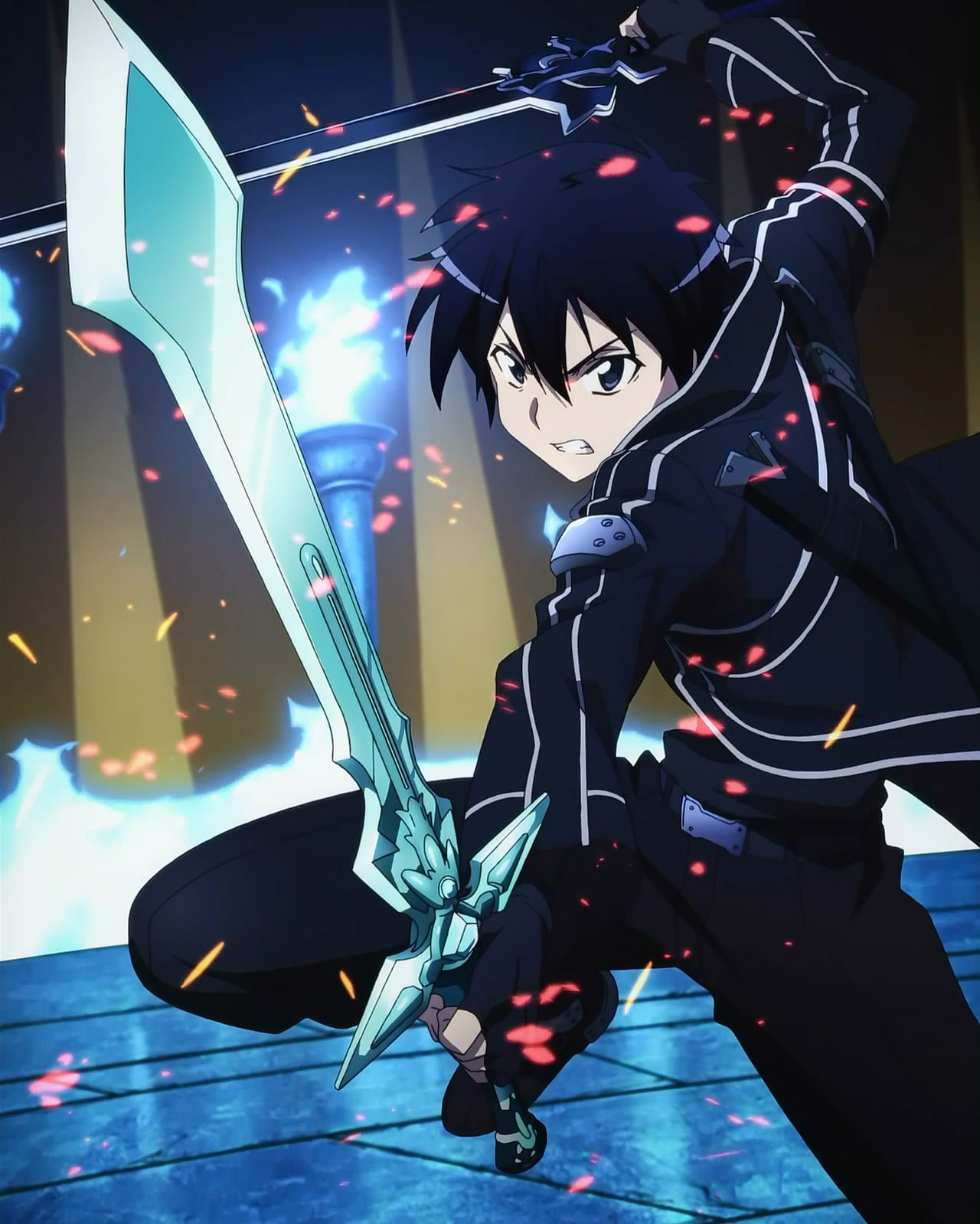 Book review sword art online volume 1 for Floor 100 boss sao
