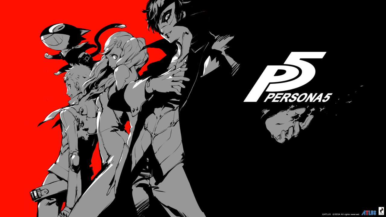 Persona 5 First Look Video
